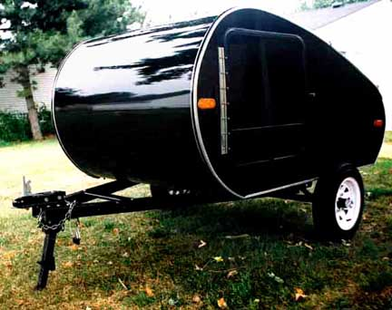 Photograph of Aerotear Model 84 Teardrop Trailer