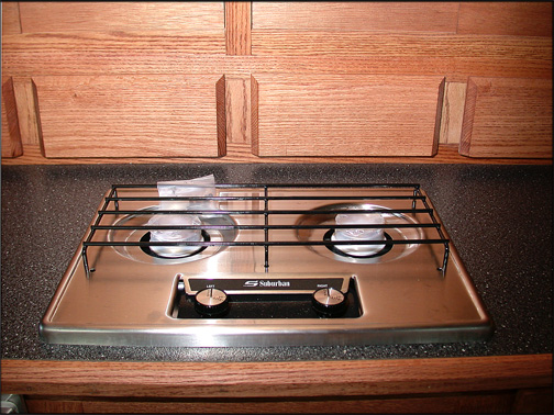 drop in stove for teardrop trailer galley